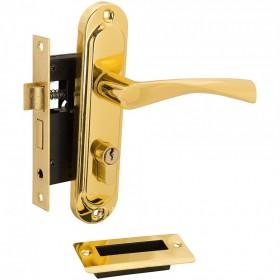 Ручка-замок 0823/60-C G золото