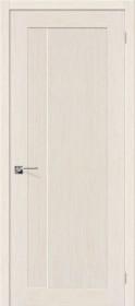 Дверь Евро-1 беленый дуб (Ф-23)