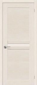 Дверь Евро-23 беленый дуб (Ф-23)