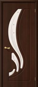 Дверь Лотос венге (П-19) со стеклом