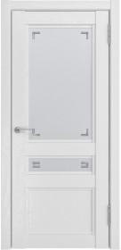 Дверь Luxor К 2 белый снег Soft-touch со стеклом