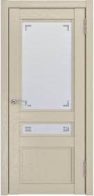 Дверь Luxor К 2 капучино Soft-touch со стеклом