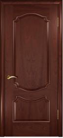 Дверь Венеция Lux красное дерево
