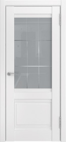 Дверь Luxor 52 белый винил