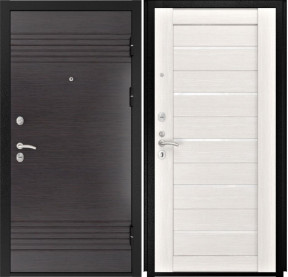 Дверь Luxor 7 Лу 22 беленый дуб экошпон