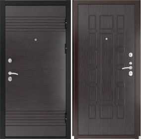 Дверь Luxor 7 ФЛ 244 венге ПВХ