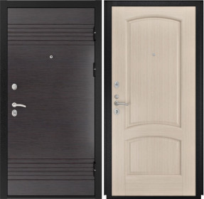 Дверь Luxor 7 Лаура беленый дуб шпон