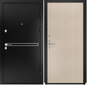 Дверь Luxor 4 Прямая беленый дуб шпон