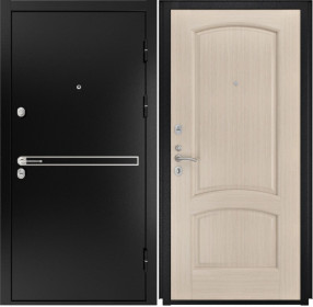 Дверь Luxor 4 Лаура беленый дуб шпон