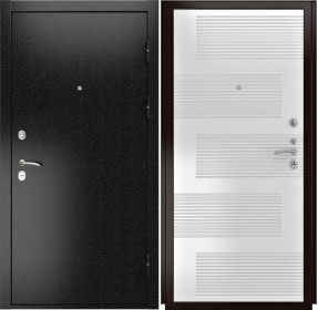 Дверь Luxor 3b 185 ясень белый ПВХ
