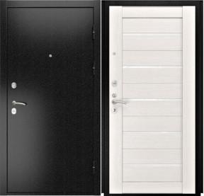 Дверь Luxor 3b Лу 22 беленый дуб экошпон стекло белое