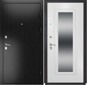 Дверь Luxor 3b ФЛЗ 120 ясень белый зеркало