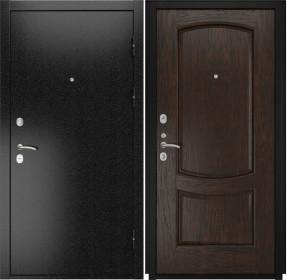 Дверь Luxor 3b Лаура 2 мореный дуб шпон