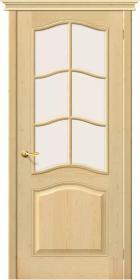 Дверь М 7 без отделки со стеклом