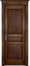 Дверь массив ольхи Гармония античный орех