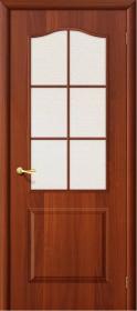 Дверь Палитра Итальянский орех (Л-11) со стеклом