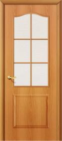 Дверь Палитра Миланский орех (Л-12) со стеклом