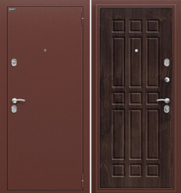Дверь Оптим Старт Темная вишня (П-28)