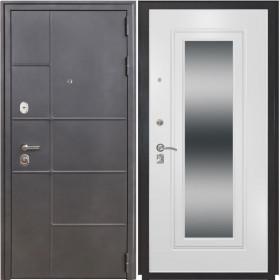 Дверь Luxor 24 ФЛЗ 120 ясень белый зеркало