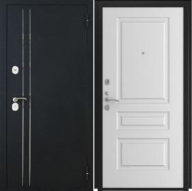 Дверь Luxor 37 L 2 белая эмаль