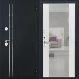 Дверь Luxor 37 Алиса ясень белый зеркало