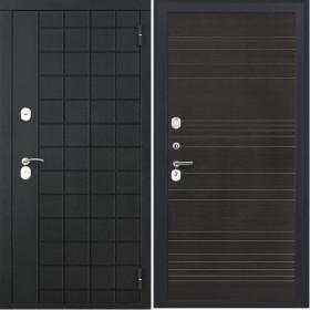 Дверь Luxor 36 ФЛ 643 венге поперечный пвх