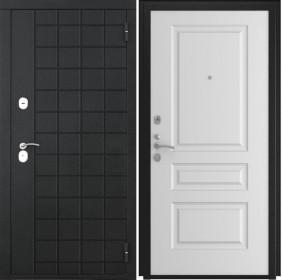 Дверь Luxor 36 L 2 белая эмаль
