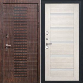 Дверь Luxor 33 СБ 1 беленый дуб экошпон