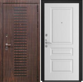 Дверь Luxor 33 L 2 белая эмаль
