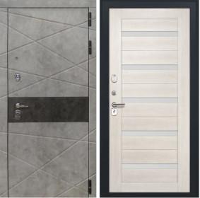 Дверь Luxor 31 СБ 1 беленый дуб экошпон