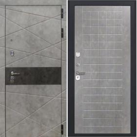 Дверь Luxor 31 ФЛ 256 бетон пепельный пвх