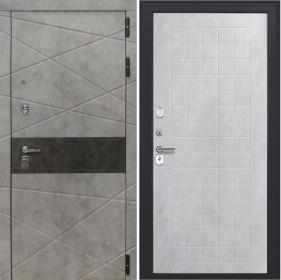 Дверь Luxor 31 ФЛ 256 бетон снежный пвх