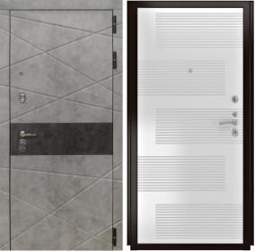 Дверь Luxor 31 ФЛ 185 ясень белый пвх