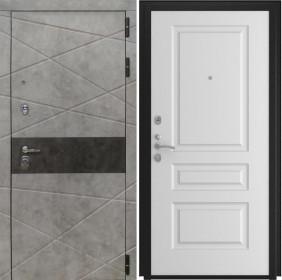 Дверь Luxor 31 L 2 белая эмаль