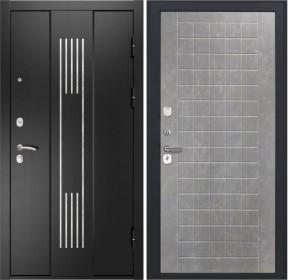 Дверь Luxor 28 ФЛ 256 бетон пепельный пвх