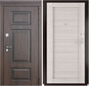 Дверь Luxor 21 Лу 21 капучино экошпон
