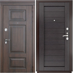 Дверь Luxor 21 Лу 21 венге экошпон