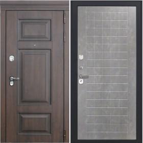 Дверь Luxor 21 ФЛ 256 бетон пепельный пвх