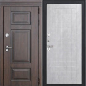 Дверь Luxor 21 ФЛ 256 бетон снежный пвх