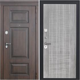 Дверь Luxor 21 ФЛ 259 дуб с пилением пвх