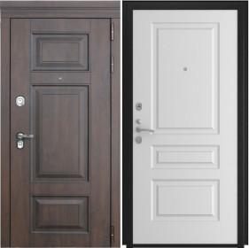 Дверь Luxor 21 L 2 белая эмаль