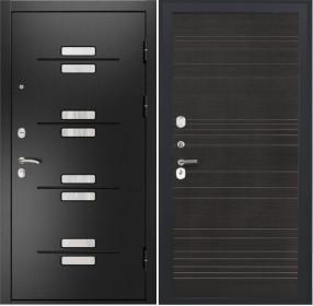 Дверь Luxor 13 ФЛ 643 венге поперечный пвх