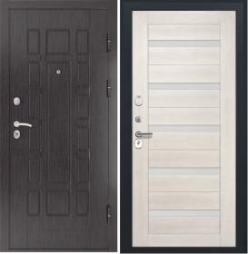Дверь Luxor 5 СБ 1 беленый дуб экошпон