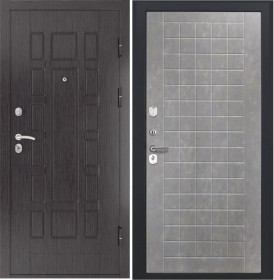 Дверь Luxor 5 ФЛ 256 бетон пепельный пвх