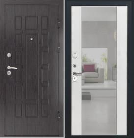 Дверь Luxor 5 Алиса ясень белый зеркало