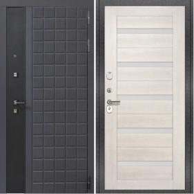 Дверь Luxor 34 СБ 1 беленый дуб экошпон