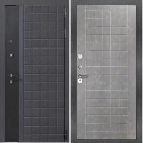 Дверь Luxor 34 ФЛ 256 бетон пепельный пвх