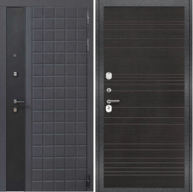 Дверь Luxor 34 ФЛ 643 венге поперечный пвх