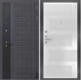 Дверь Luxor 34 ФЛ 185 ясень белый пвх