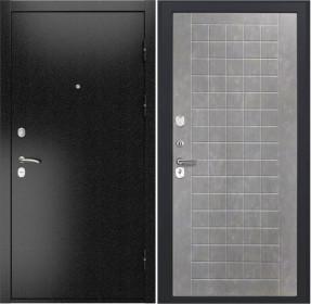 Дверь Luxor 3b ФЛ 256 бетон пепельный пвх
